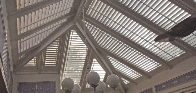Conservatory Roof Shutters